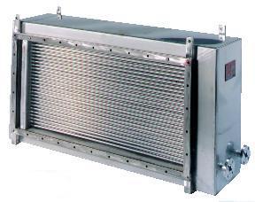 Varmeveksler luft til vand